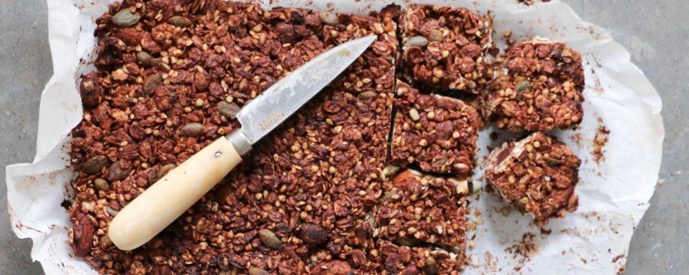 ANTONIA X GALLINEE – Barres au Chocolat et Dattes