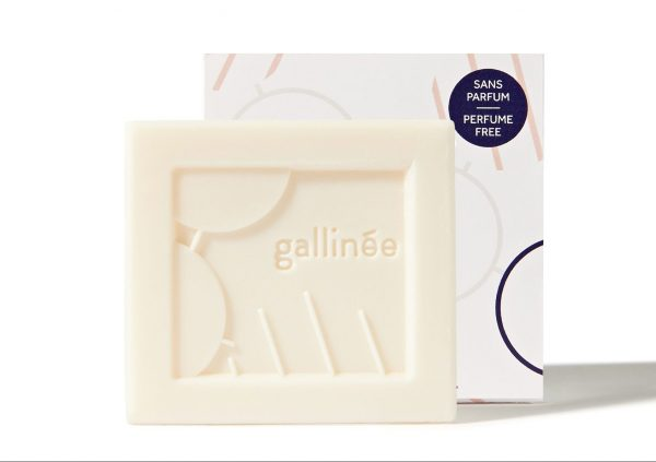 Gallinée - Perfume-Free Cleansing Bar White background