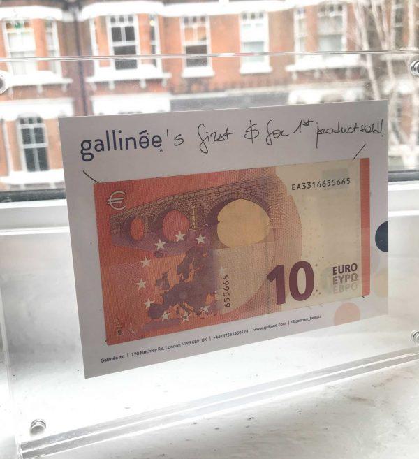 First 10€ at gallinée